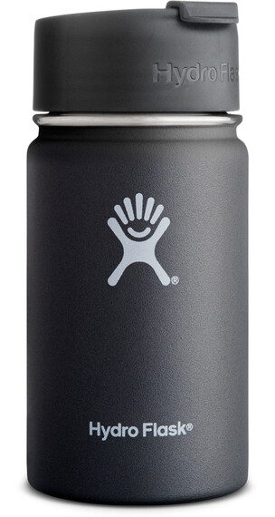 Hydro Flask Wide Mouth Coffee Bottle 12oz (355ml) Black